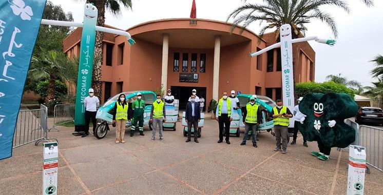 إطلاق حملة بمراكش للحفاظ على نظافة وجمالية المدينة