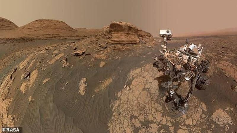 بعد إنجاز المهمة 30.. التقاط صورة سيلفي مذهل على المريخ