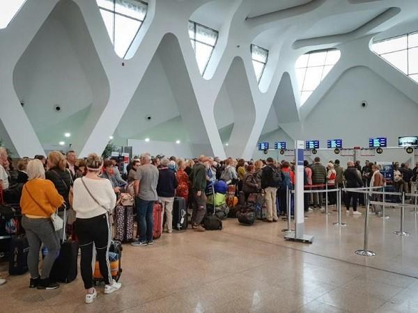 """""""ترانزافيا"""" تؤمن رحلتين من مراكش لترحيل المواطنين الفرنسيين"""