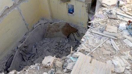 انهيار سقف منزل كاد ينهي حياة أسرة بحي الملاح بالصويرة