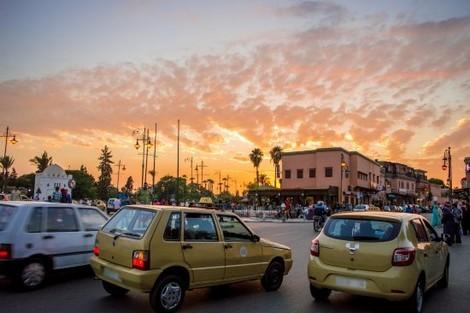سائق سيارة أجرة يتعرض للسرقة بسيدي يوسف بن علي بمراكش