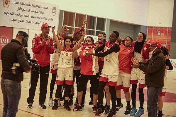 إناث الكوكب المراكشي لكرة السلة على موعد مع نهائي بطولة المغرب