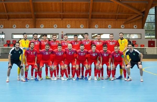 المنتخب المغربي للفوتسال يشارك في كأس العرب بمصر ضمن المجموعة الثانية