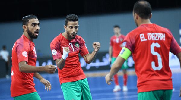 المنتخب المغربي للفوتصال يتأهل لنصف نهائي البطولة العربية بالعلامة الكاملة
