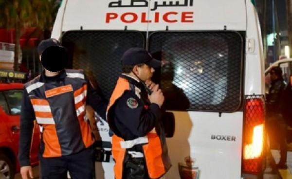 أمن آسفي يعتقل لصا ظهر في فيديو يعنف سيدة من أجل السرقة