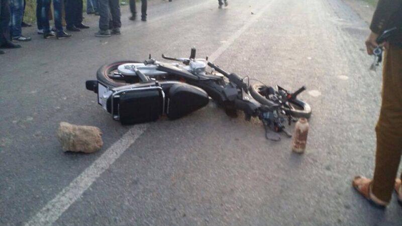 الرحامنة..مصرع سائق دراجة نارية في حادث اصطدام بسيارة