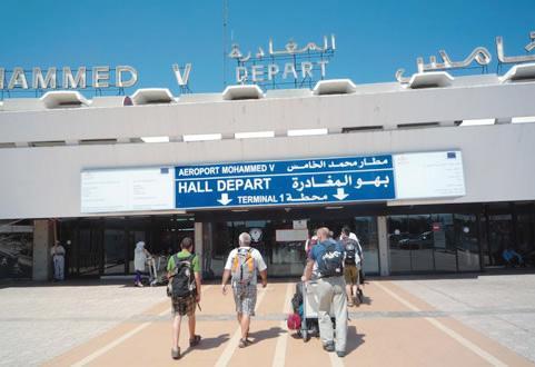 مطارات المغرب تستقبل أزيد من 195 الف مسافرا في 1857 رحلة جوية خلال أسبوع