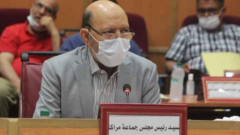 """نقابة """"مخارق"""" بمراكش تصعد ضدرئيس المجلس الجماعي """"العربي بلقايد"""""""