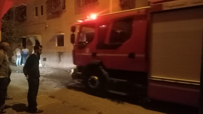 اندلاع حريق بمنزل بحي سوكوما بمراكش.