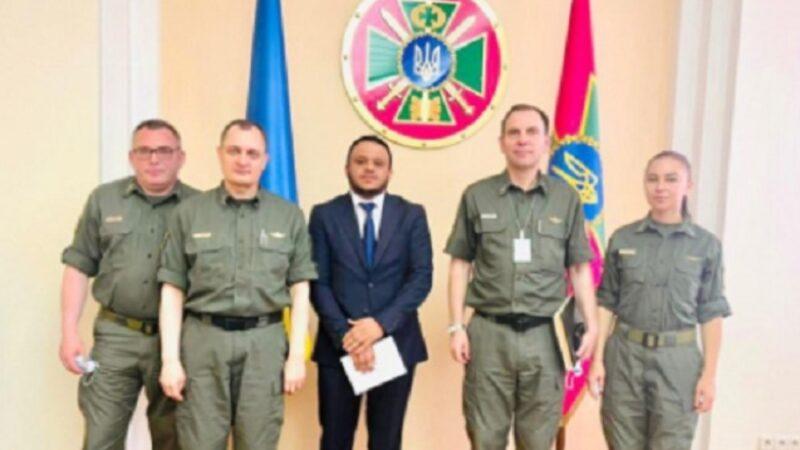 رئيس اتحاد الجالية المغربية في أوكرانيا يطلع هيئة الحدود على الصعوبات التي تواجه المغاربة