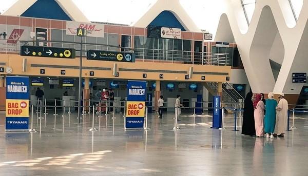 عملية تلقيح واسعة تشمل جميع العاملين في مطار مراكش