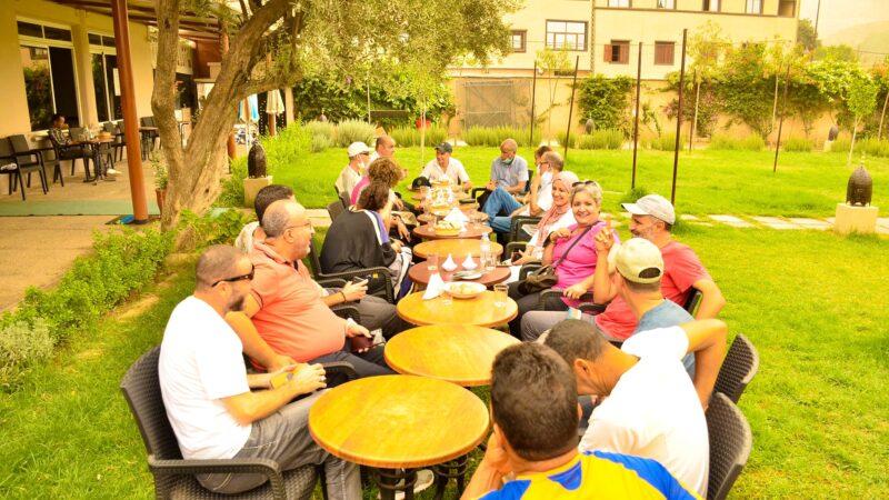 مرشدون سياحيون من مراكش يلتقون بزملائهم بأمزميز في لقاء النهوض بالسياحة