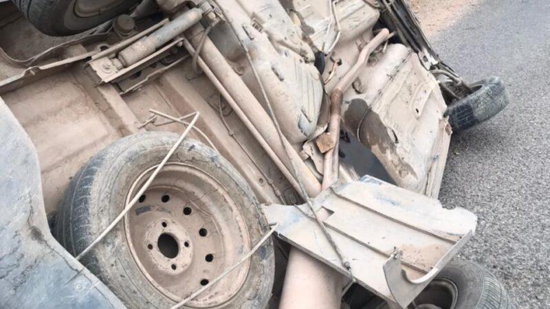 قتيل وجرحى في حادث انقلاب سيارة في عمق الجبل بالحوز