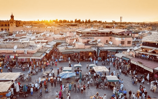 مراكش من بين 29 وجهة سياحية الأكثر زيارة في العالم