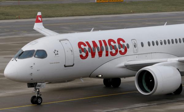 """شركة الطيران """"سويس"""" تعزز أسطولها بطائرة """"ايرباص A220"""" جديدة لتأمين رحلات نحو مراكش"""