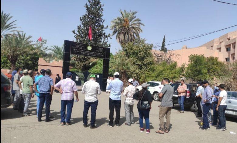 الأطر الإدارية التدريبية بمراكش تصعد من احتجاجاتها ضد العشوائية في التعيينات