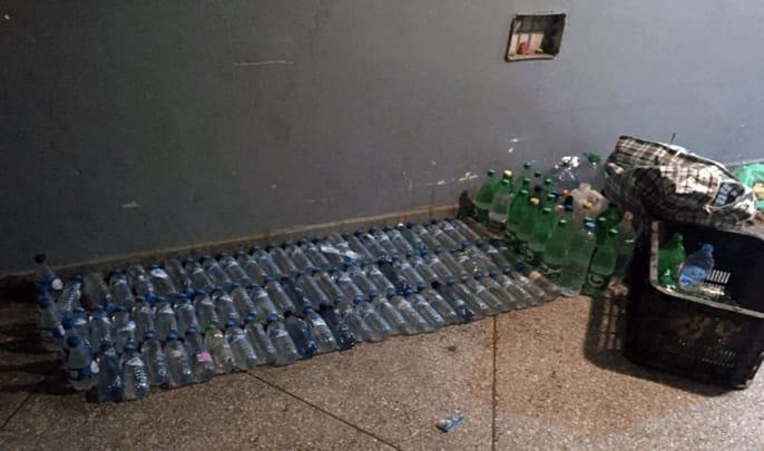 ضبط 500 لتر من مسكر ماء الحياة بمنزل مروج للخمور بمراكش