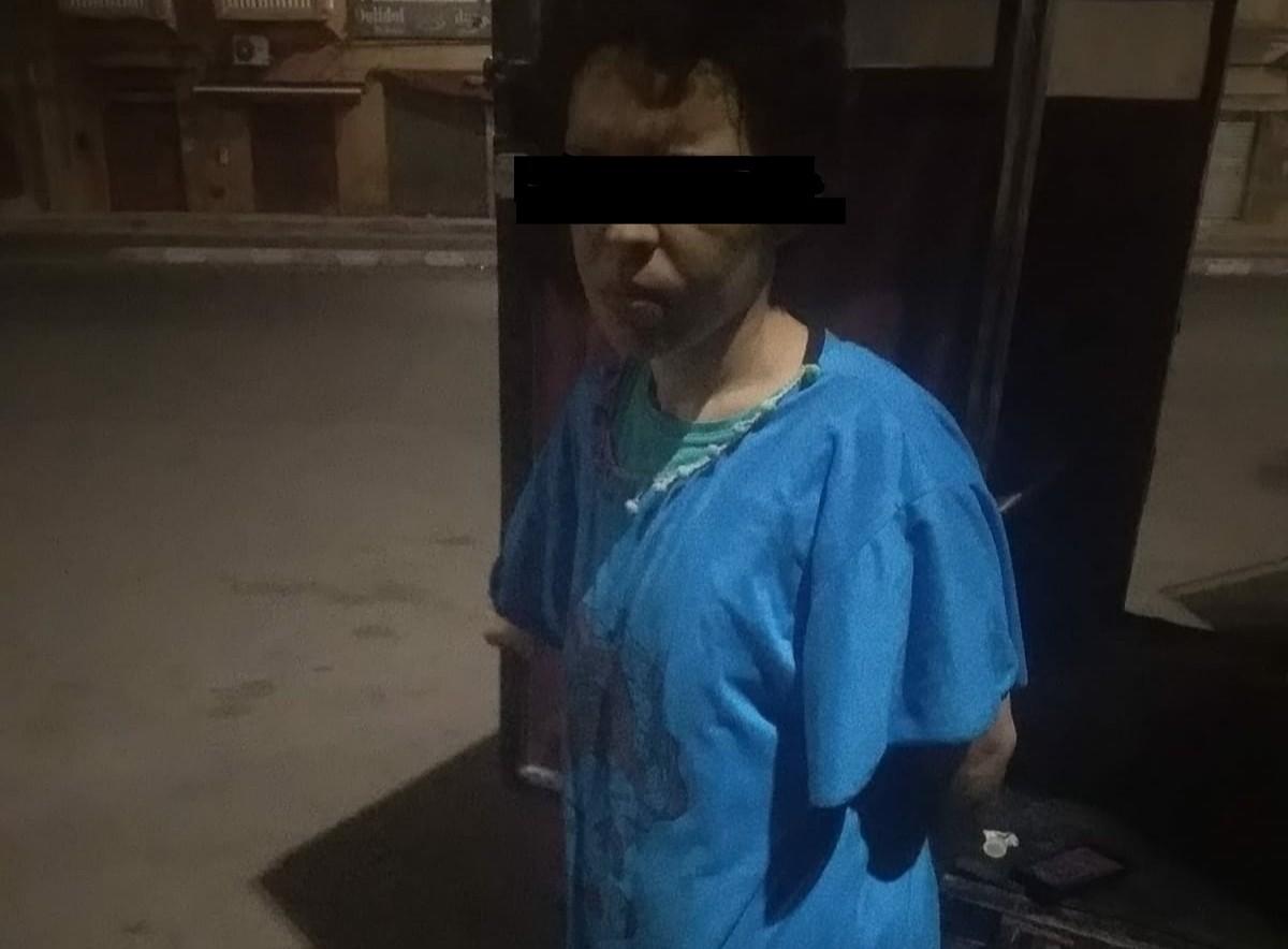 زوج يرسل زوجته في حالة حرجة بعد اغتصابها من الذبر
