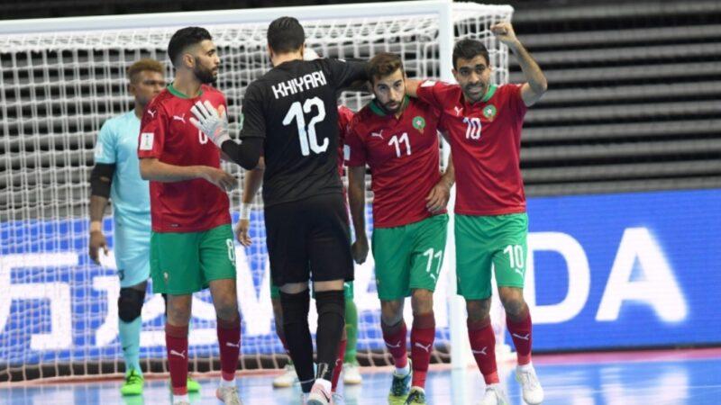 منتخب الفوتسال يعبر ثمن نهائي كأس العالم لأول مرة في تاريخه