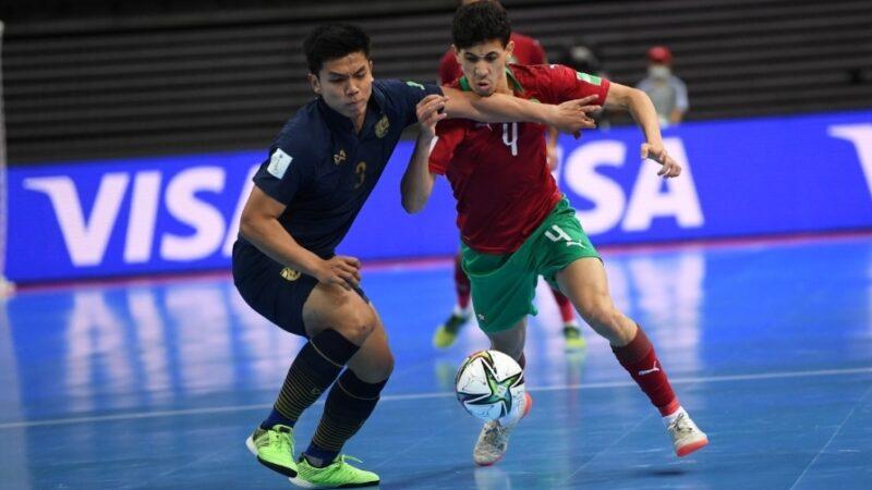 المنتخب المغربي للفوتصال يتعادل مع المنتخب التيلاندي في ثاني مباريات المونديال