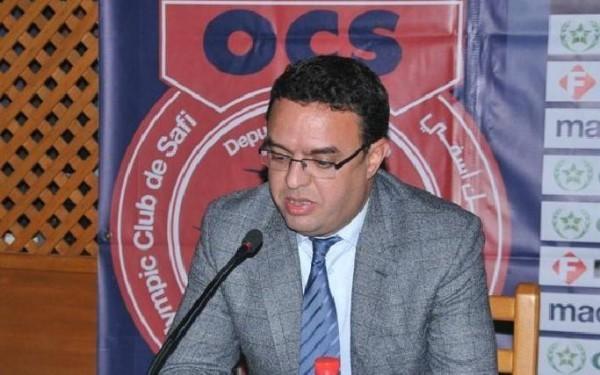 أنور دبيرة يتخلى عن رئاسة نادي أولمبيك آسفي لكرة القدم