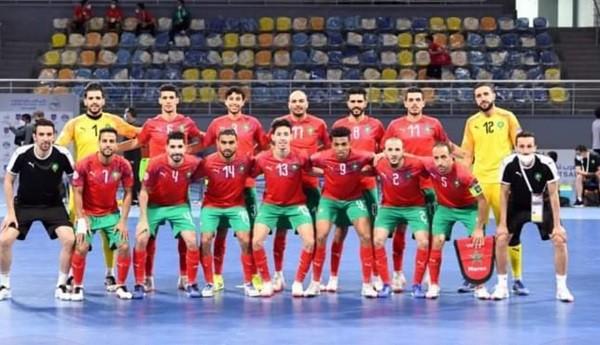 """المنتخب المغربي يضرب بقوة في أولى مبارياته في مونديال """"الفوتصال"""""""