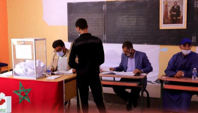 انطلاق عملية التصويت في ظروف استثنائية